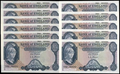 Lot 2285 - banknotes  -  John Bull Stamp Auctions sale 332