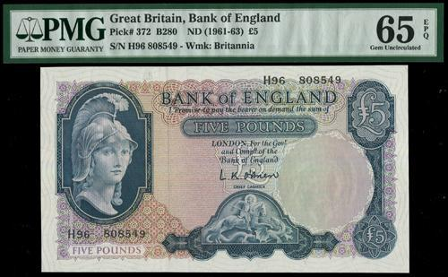 Lot 2284 - banknotes  -  John Bull Stamp Auctions sale 332